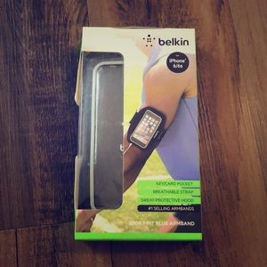 Belkin iPhone 6/6s sport-fit plus armband